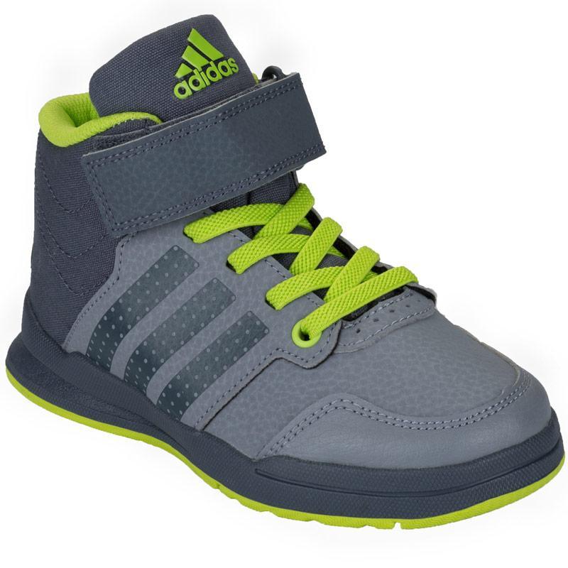 Boty Adidas Children Boys Jan BS 2 Mid Trainers Grey
