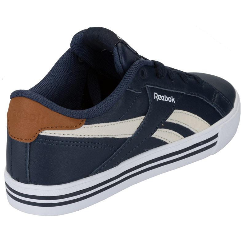 Boty Reebok Children Boys Royal Comp Low Trainers Navy