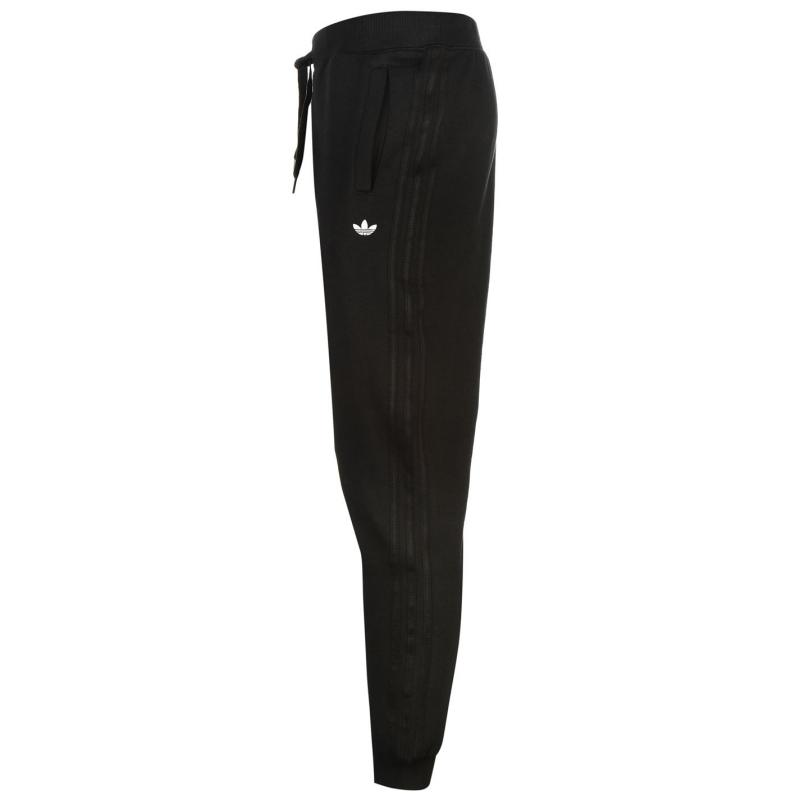 Tepláky adidas Fitted Sweatpants Mens Navy, Velikost: L