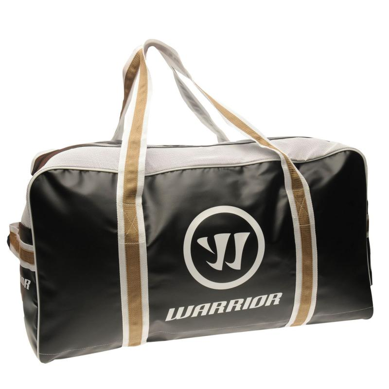 Warrior Pro Hockey Bag Black/Gold