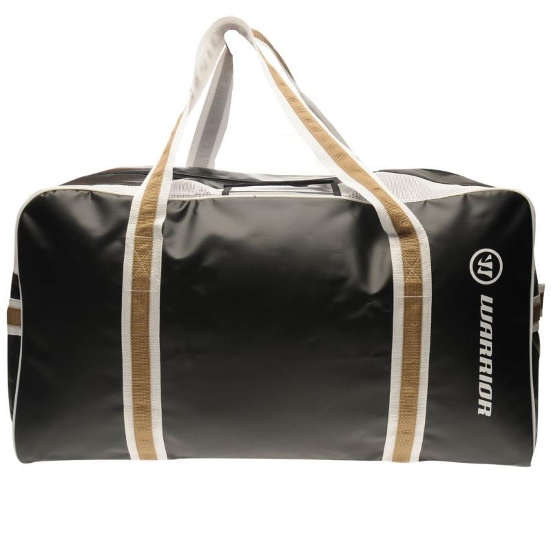 Warrior Pro Hockey Bag Black/Gold