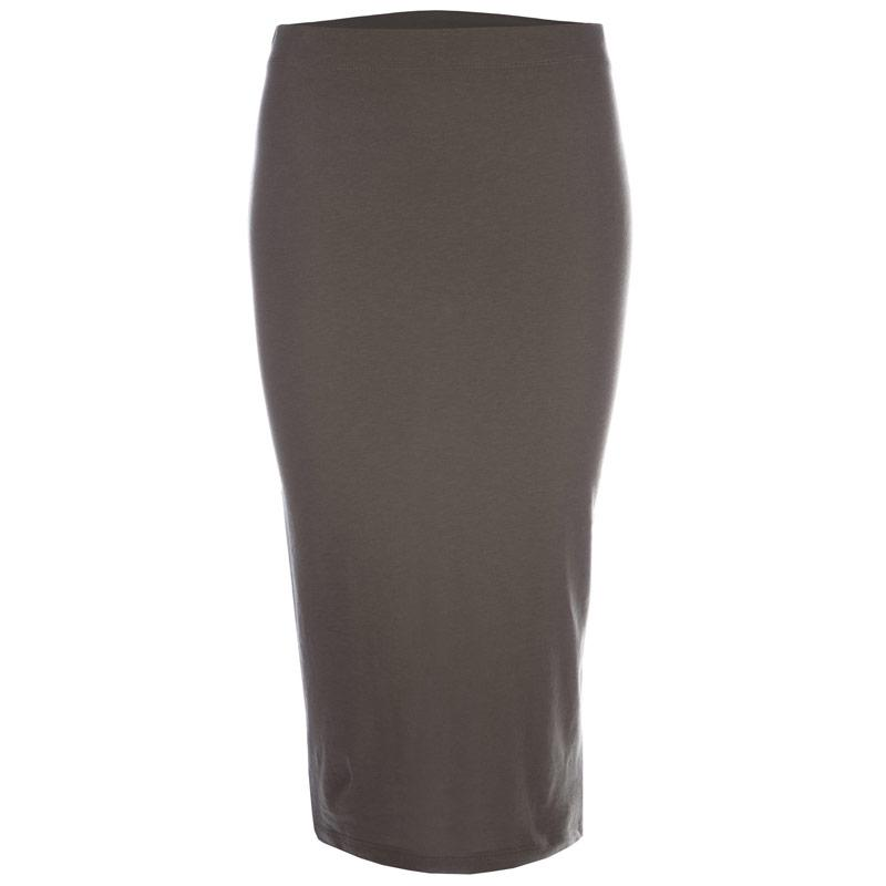 Sukně Noisy May Womens Anja Trend Skirt Grey Marl