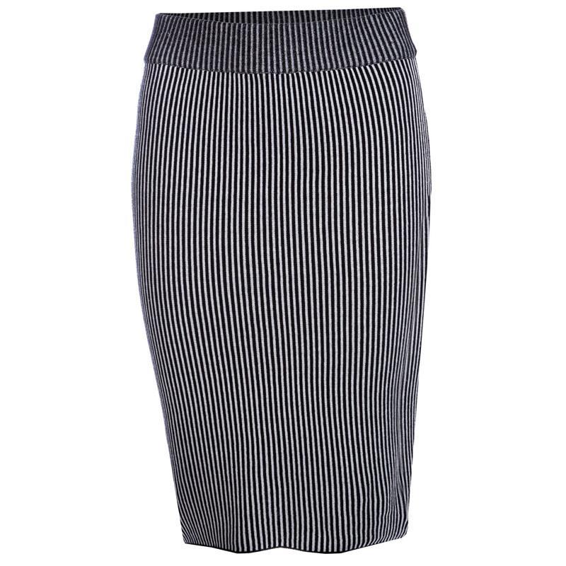 Sukně Glamorous Womens Skirt Black-White