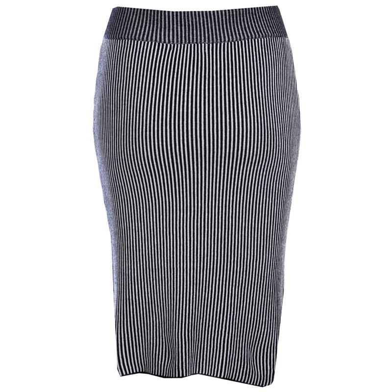 Sukně Glamorous Womens Skirt Black-White