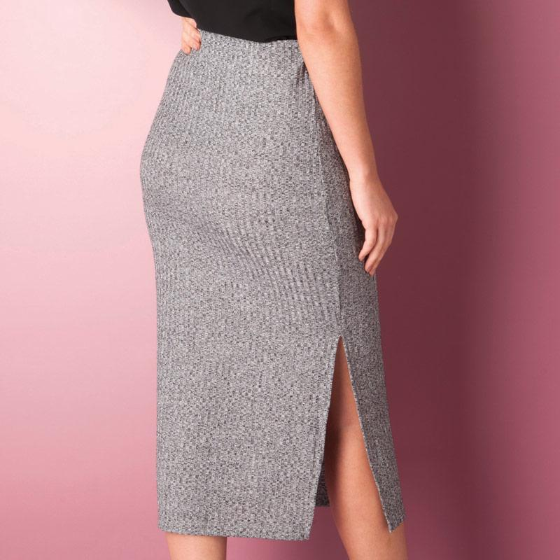 Sukně Only Womens Tina Skirt Grey Marl