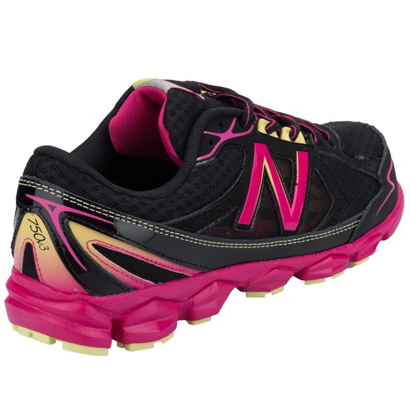 New Balance Junior Girls KJ750 Running Trainer Black