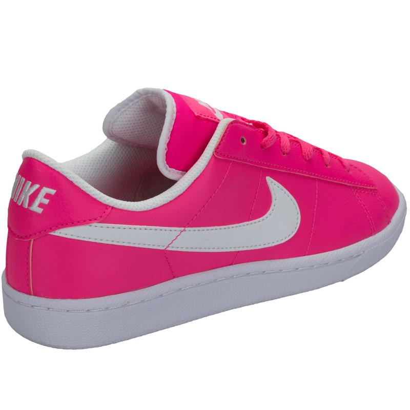 Nike Junior Girls Tennis Classic Trainers Pink