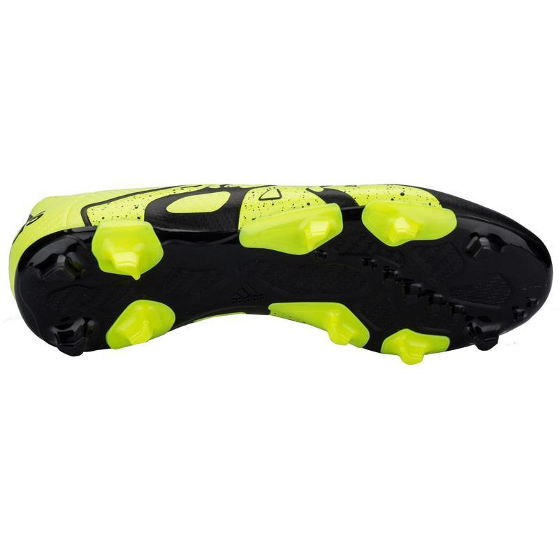Adidas Mens X 15.3 FG-AG Football Boots Yellow, Velikost: UK6 (euro 39)
