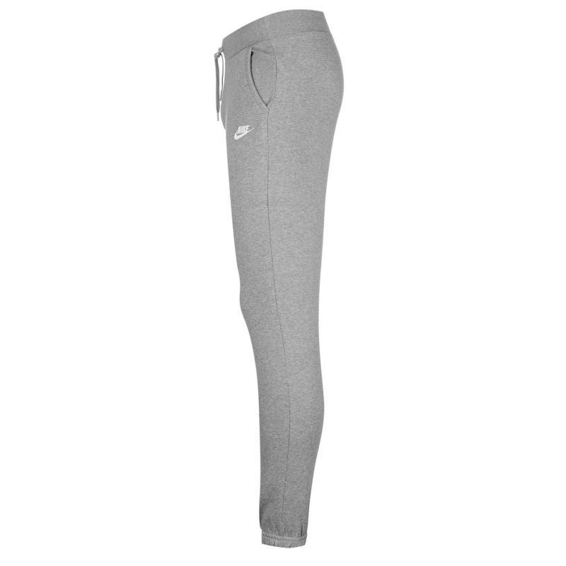 Tepláky Nike Regular Fleece Pants Ladies Grey, Velikost: 16 (XL)