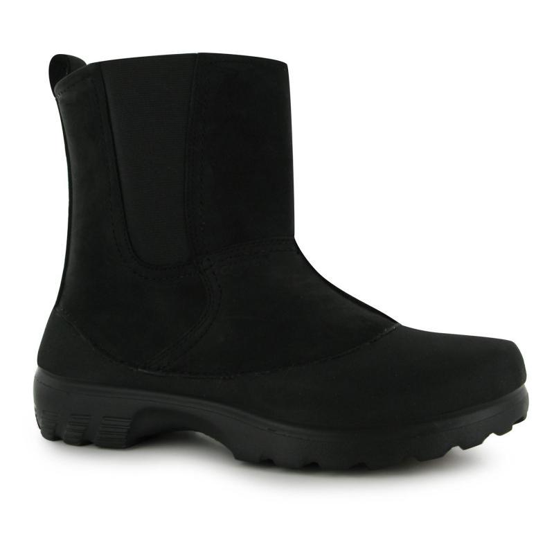 Boty Crocs Greeley Walking Boots Mens Black/Black