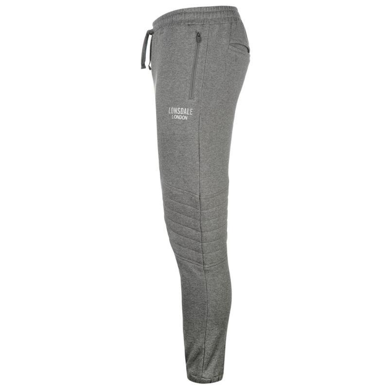 Tepláky Lonsdale Sport Pants Mens Grey Marl