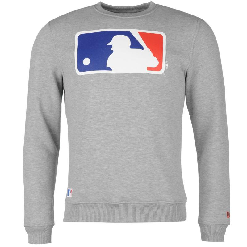 Mikina New Era Team Logo Sweater Grey