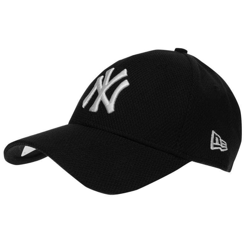 New Era Diamond Baseball Cap Black