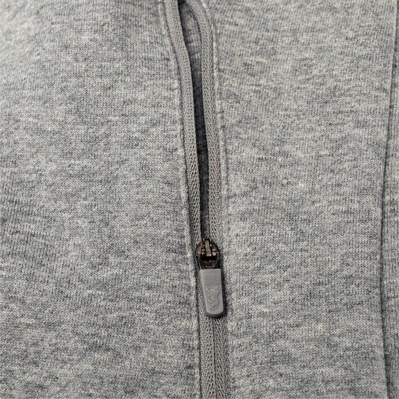Mikina Lonsdale Sport Crew Sweater Mens Grey Marl, Velikost: S