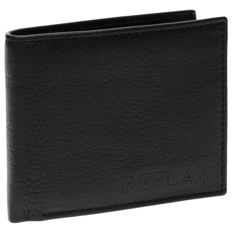 Replay Split Wallet Black