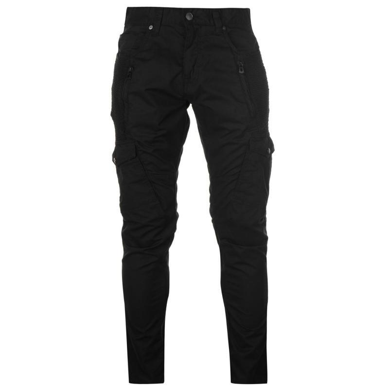 Kalhoty 883 Police Cassady Cargo Pants Ez Black