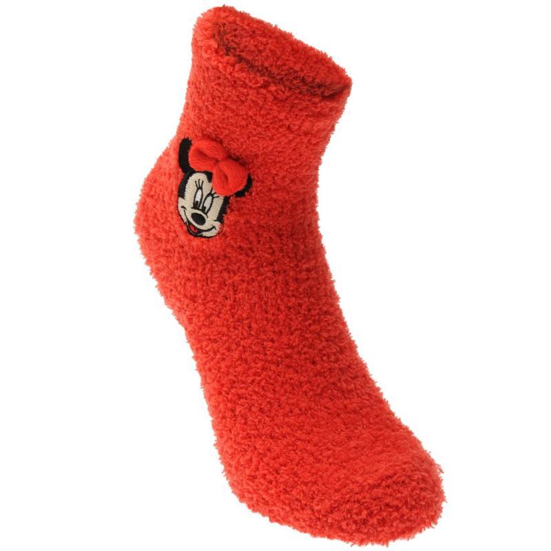 Character Fluffy Socks Childrens Disney Minnie