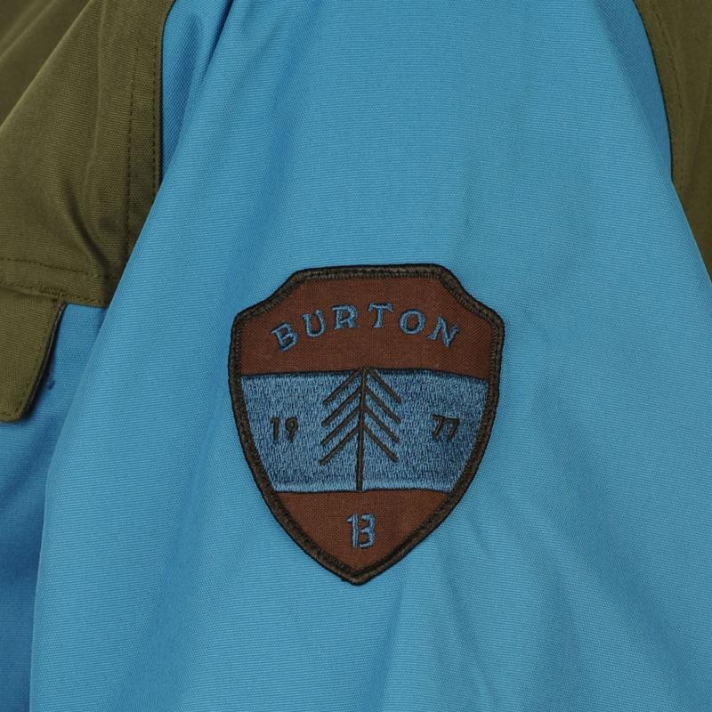Bunda Burton Folsom Jacket Mens Blue/Grey, Velikost: S
