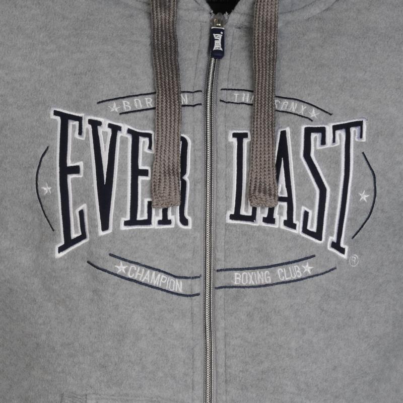 Everlast Performance Zip Hoody Mens Charcoal