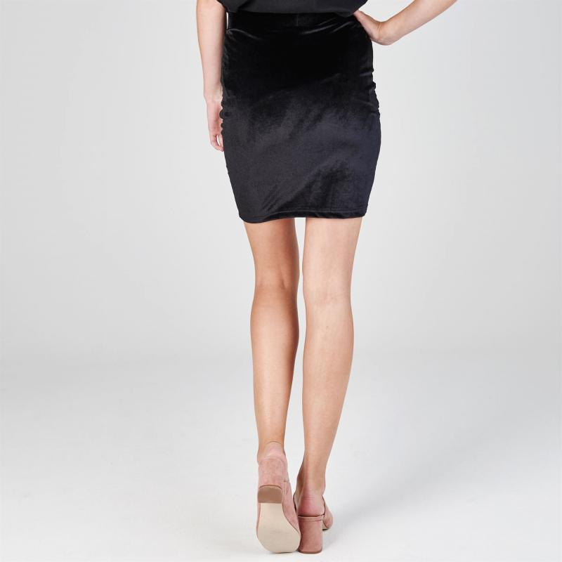 Šaty JDY Sherry Pencil Skirt Black