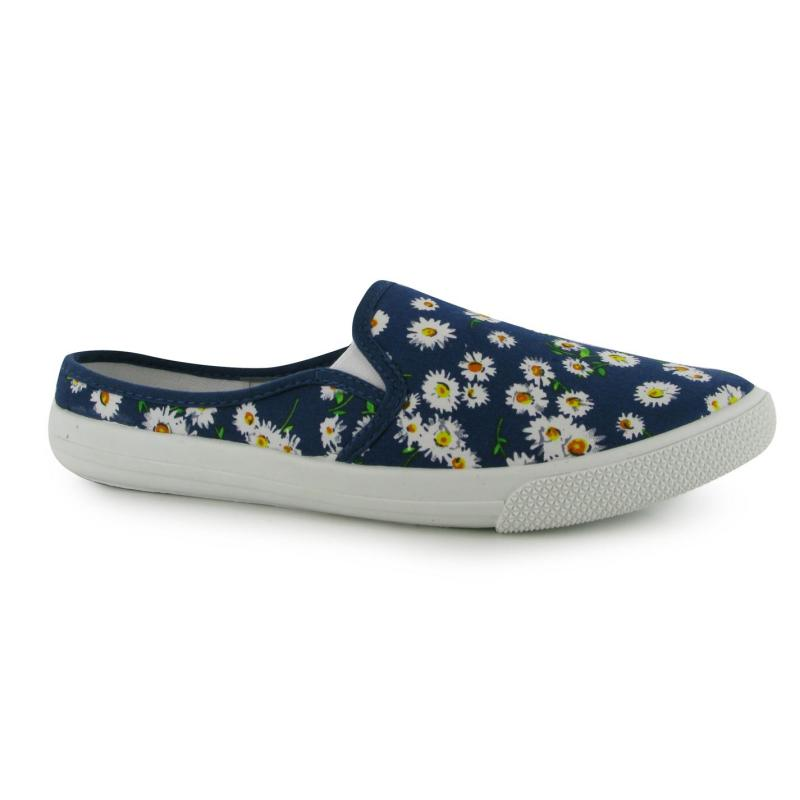 Lee Cooper Slip On Textile Ladies Shoes Daisy Floral, Velikost: UK6 (euro 39)