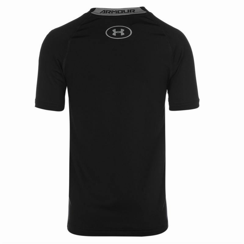 Under Armour Short Sleeve T Shirt Junior Boys Navy