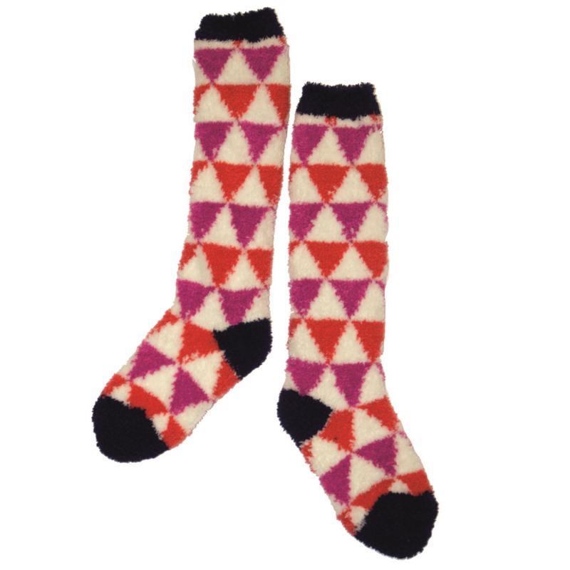 Horseware Junior Soft Socks Multi Geometric
