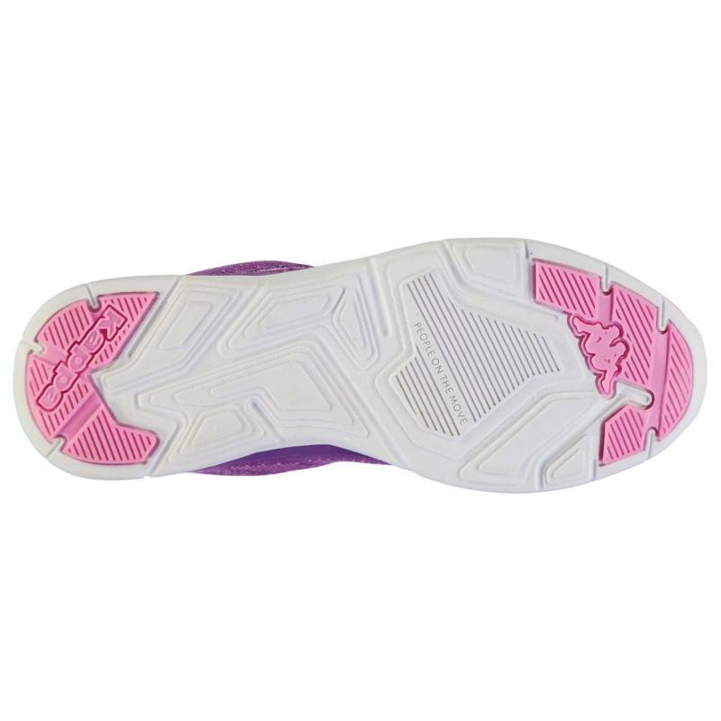 Boty Kappa Asilet Running Shoes Ladies Violet/Pink, Velikost: UK7 (euro 41)