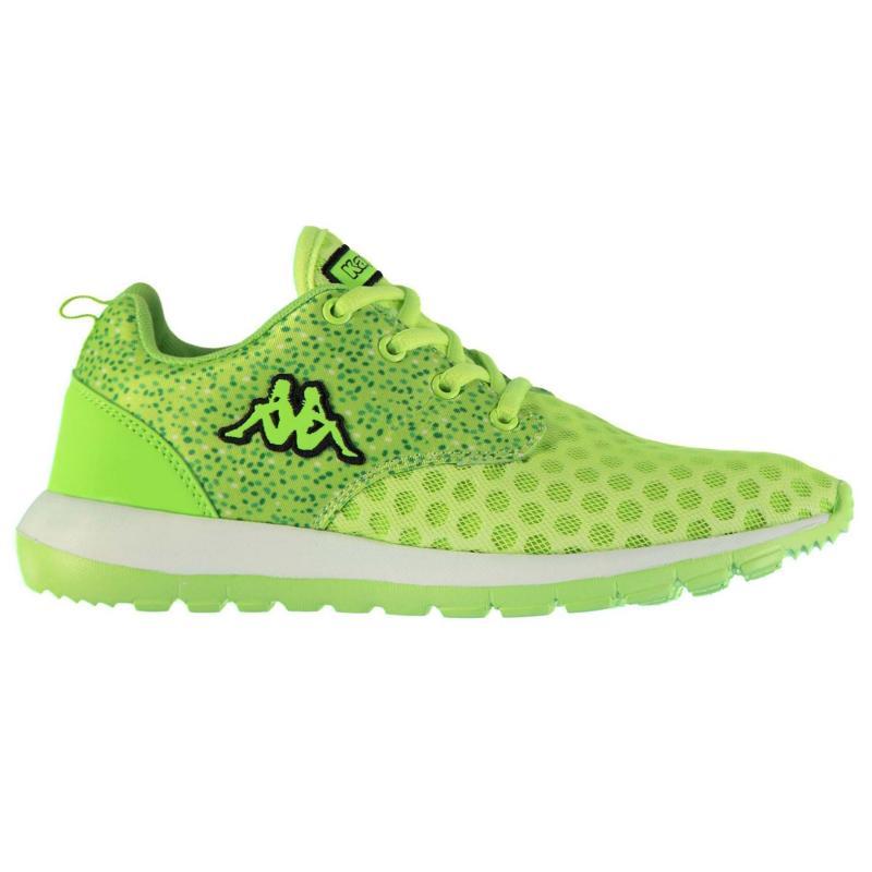 Boty Kappa Calita Running Shoes Ladies Lemon Green, Velikost: UK7 (euro 41)