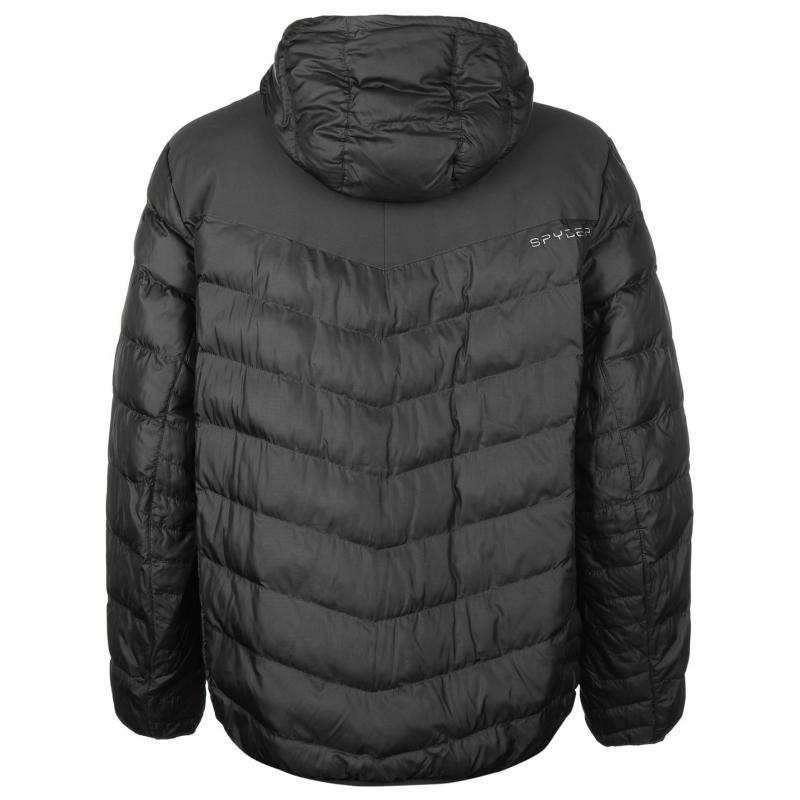 Bunda Spyder Geared Down Jacket Mens Grey, Velikost: M