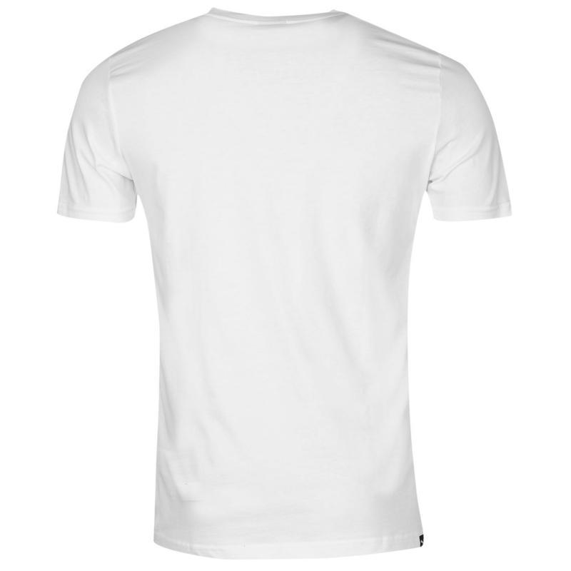 Tričko Puma Cat Logo T Shirt Mens Yellow, Velikost: XXL