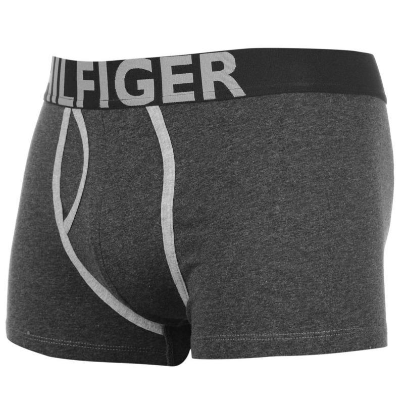 Pyžamo Tommy Hilfiger Contrast Trunks Black