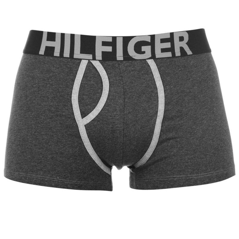 Spodní prádlo Tommy Hilfiger Contrast Trunks Steel/Navy