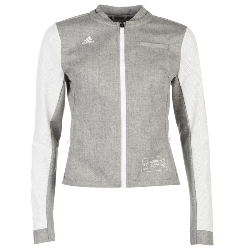 Bunda adidas Marathon 2016 adidas Jacket Ladies White