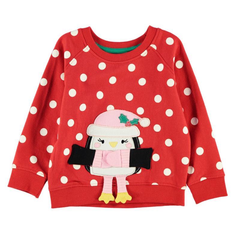 Heatons BG PenguinSweat Chd64 Red