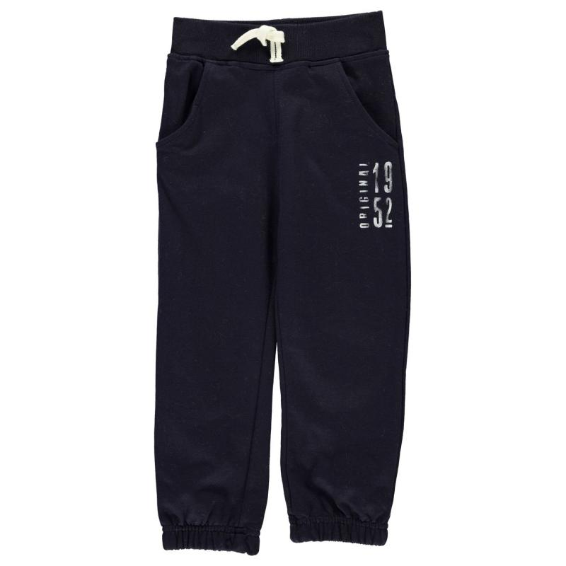 Tepláky Heatons Fashion Joggers Child Boys Navy Solid