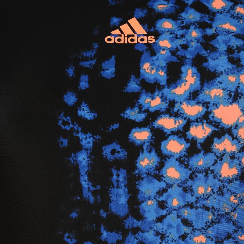 Plavky adidas Art Swimsuit Ladies Black/Orange