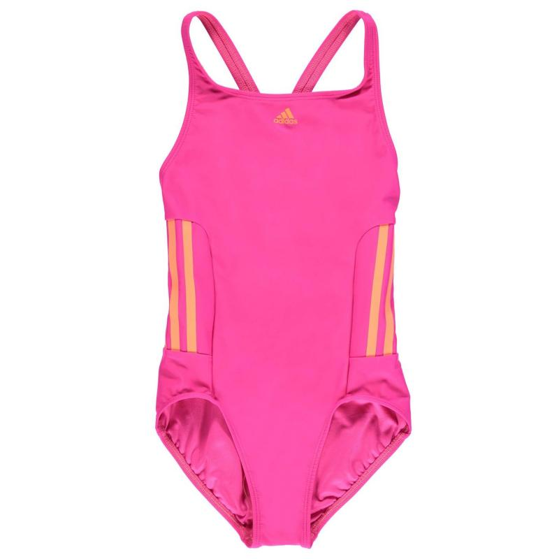 adidas EC3 Swim Suit Girls Pink