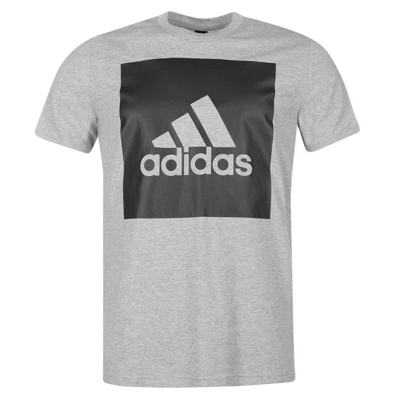 Tričko adidas Essential Big Logo T Shirt Navy, Velikost: S