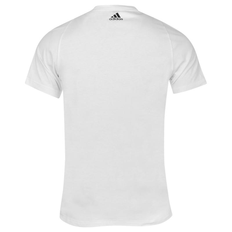 Tričko adidas Essential Logo T Shirt Mens Maroon