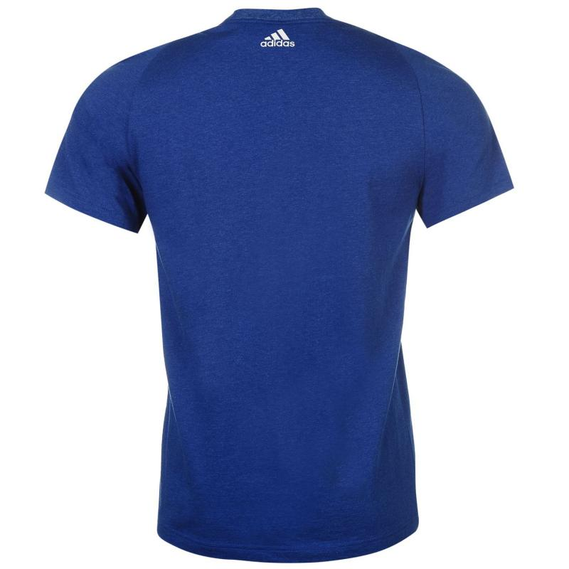 Tričko adidas Small Chest Logo T Shirt Blue