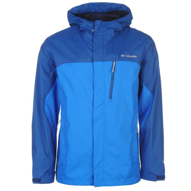 Columbia Pouri 2 Layer Jacket Mens Blue
