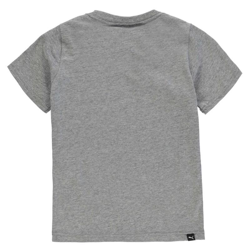 Tričko Puma Retro T Shirt Junior Boys Green