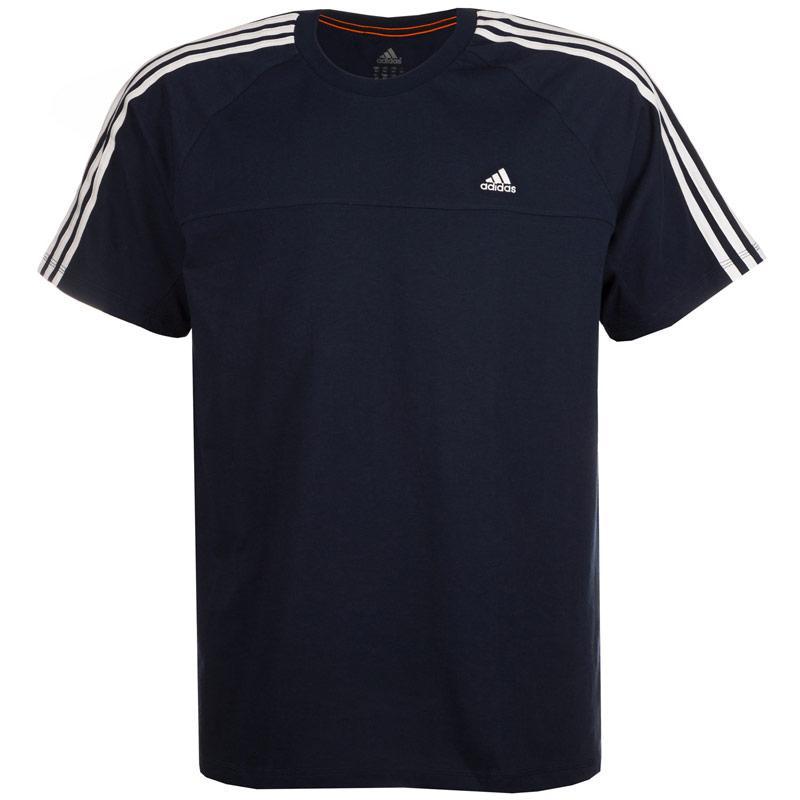 Tričko Adidas Mens Tall Essentials 3S Crew T-Shirt