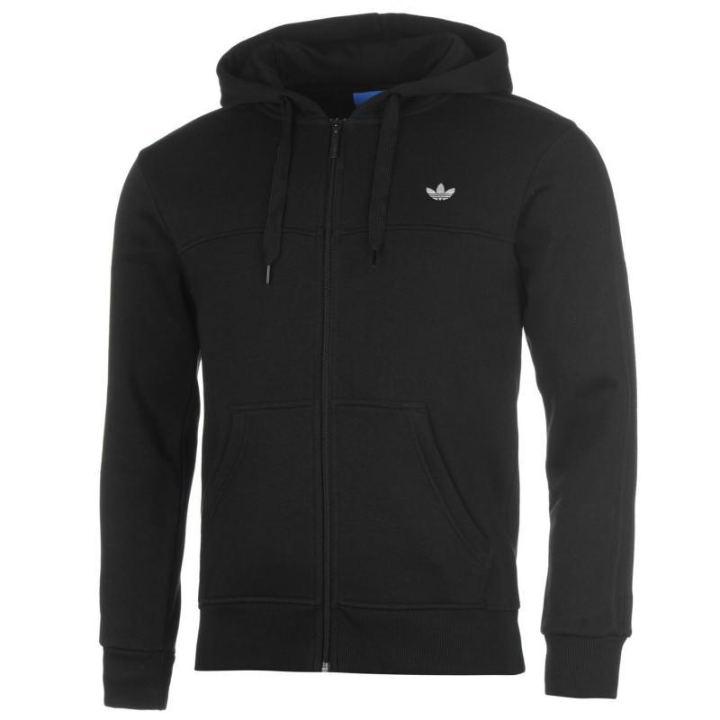 Mikina adidas Trefoil FZ Hd Sn71 Black