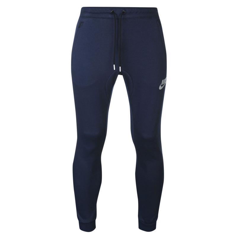 Tepláky Nike AV15 Joggers Mens Grey, Velikost: S