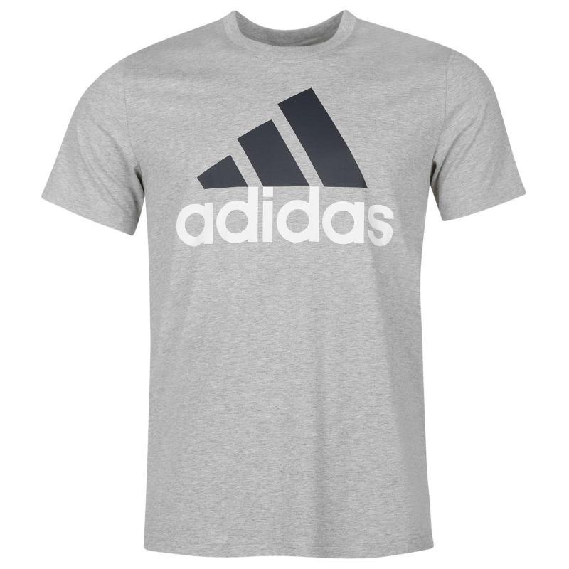 Tričko adidas Essential Logo T Shirt Mens Navy, Velikost: XXL