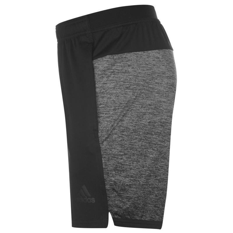 Kraťasy adidas Speedbreaker Gradient Shorts Mens Black, Velikost: S