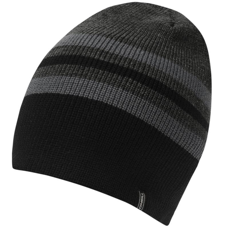 ONeill Elevation Beanie Mens Black Out