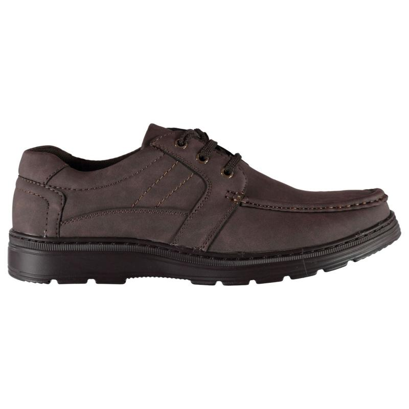 Boty Cargo Quay Moccasin Shoes Mens Brown